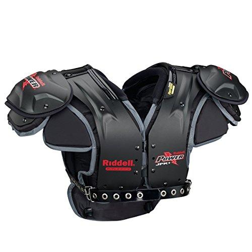 riddell power shoulder pads - 4