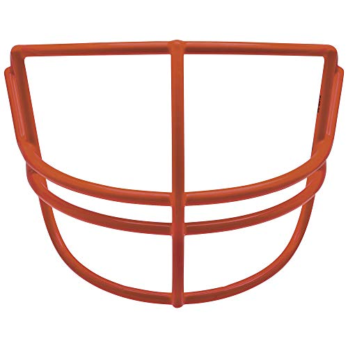 Schutt Sports Super Pro Carbon Steel Varsity NOPO Football Faceguard, Scarlet