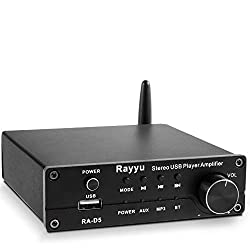 Rayyu Professional Mini Hi-Fi Digital MP3 Bluetooth Stereo Receiver