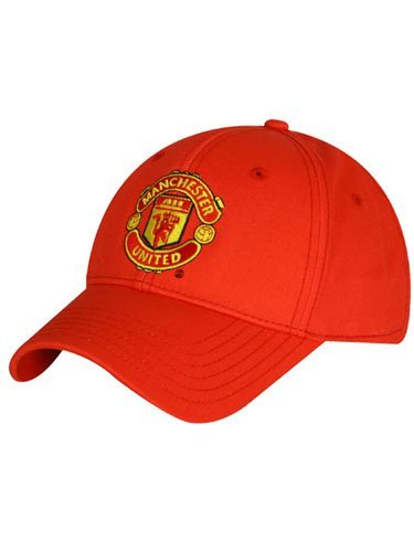 Manchester United - Casquette de Baseball Rouge