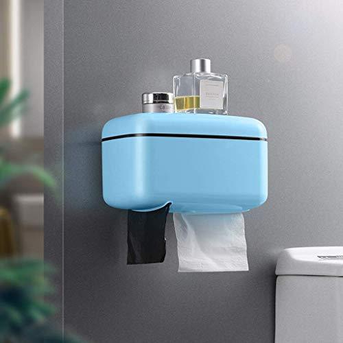 Leyue Toalla Rack Cocina Sala de Estar Habitación Dormitorio Comedor Rollo de Inodoro Tenedor de Papel higiénico Separado (Color: B) (Color : C)