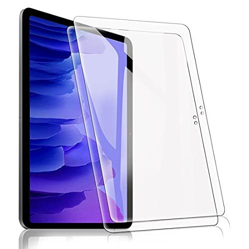 [2 Pack] Protector Pantalla para Samsung Galaxy Tab A7 10.4' 2020 (SM-T500/ T505/ T507), Cristal Film Protector de Pantalla de Vidrio Templado Alta Claridad 9H Dureza Resistente Anti-Arañazos