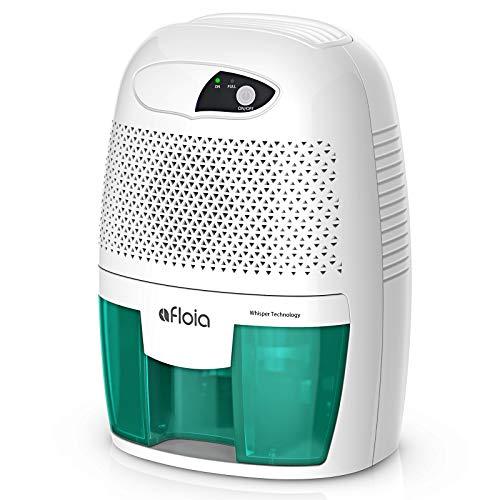 Afloia Mini Deshumidificador 500Ml Portátil Y Silencioso, Purifica Aire Y Evitar Bactéria Y Humedad,Adecuado para para Baño Sótano Casa Habitación Garage (Verde)