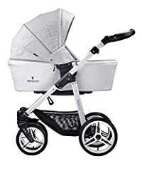 The luxurious special edition Venicci travel system combines versatility, elegance and contemporary European style.The 2 in 1 carrycot and stroller travel system features leatherette detail throughout the carrycot, stroller seat and accessories All S...