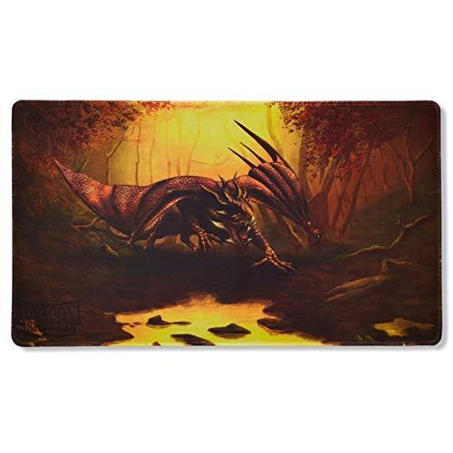 Arcane Tinmen ApS ART21511 - Alfombrilla de Juego, edición Limitada de Teranha Dragon Shield Spielmatte Mate Umber Limitiert Card Game, Talla única