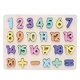 fine_fine Building Puzzles, Building Blocks Alphanumeric Board Enlightenment Scratch Board...