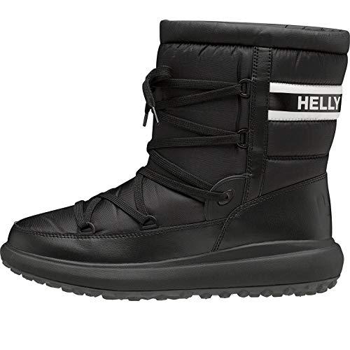 Helly-Hansen Men's Isola Court Snowboot, 990 Black/Off White, 7.5