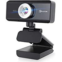 Eivotor 720P HD Plug and Play Wide Angle Streaming Web Camera