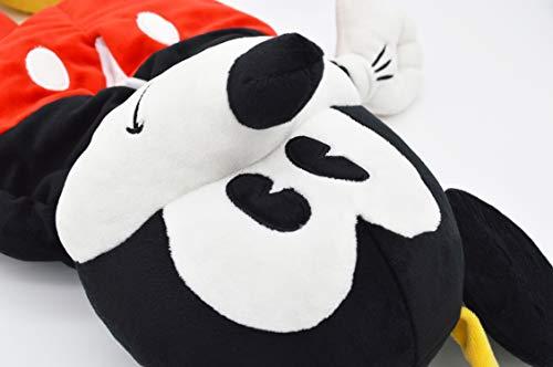 モリシタ Disney (ディズニー) ミッキーマウス 壁掛けティッシュボックスカバー ぬいぐるみ 20×45cm 4620369