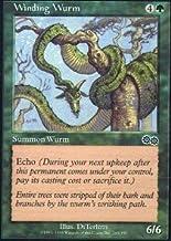 Magic The Gathering - Winding Wurm - Urza's Saga