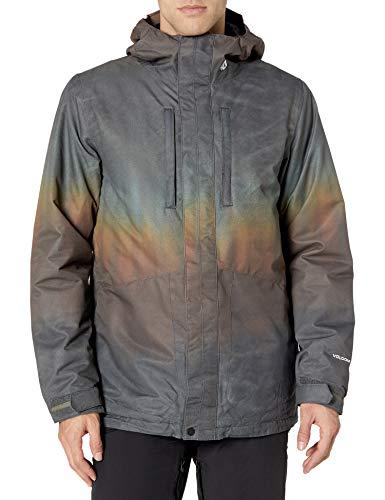 Volcom SLYLY INS Jacket Abrigo, Hombre, Brown, M