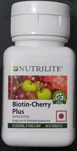 Amway Nutrilite Biotin Cherry Plus [60 Tablets]