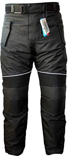 /Pantalones de motorista Cordura Textiles Pantal/ón de Motorista Combi Pantal/ón negro//gris German Wear/