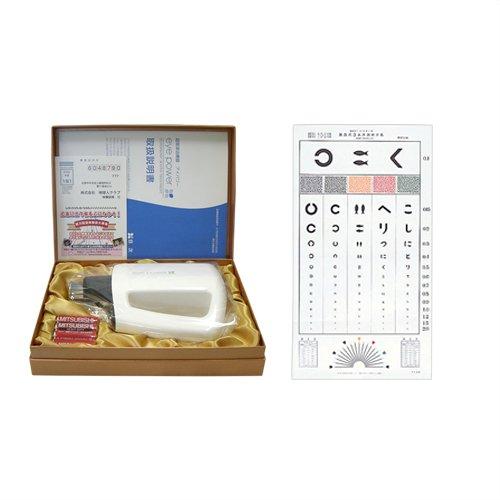 視力回復超音波治療器 アイパワー(eye power)+視力表(3m) セット