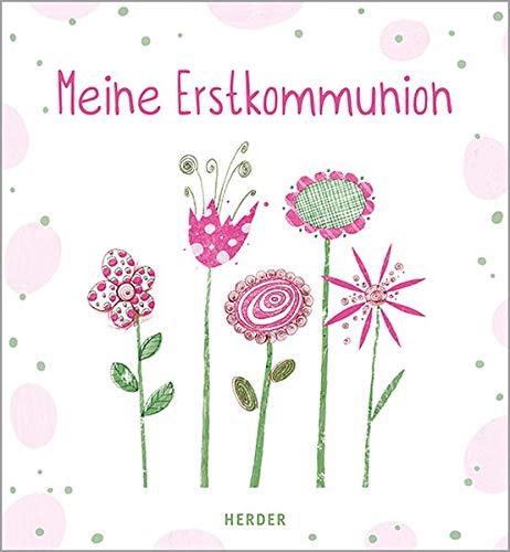 Meine Erstkommunion Erinnerungsalbum Blumen