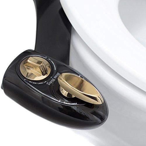 BossBidet Bold - bidet attachment for toilet, cleans you in 1.3 seconds. Aesthetic design, Bidet...