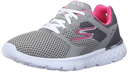 Skechers (SKEES) Go Run 400 Baskets Sportives, femme, gris (cchp), taille 36.5