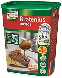 Knorr Bratenjus pastös vielseitig anwendbar als klarer Bratensaft, Bratensoße und braune Soße 1er pack 1 x 0,4kg