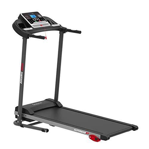 Folding Treadmill Exercise Running Machine - Electric Motorized Running Exercise Equipment w/ 12 Pre-Set Program, Manual Incline, Bluetooth Music/App...