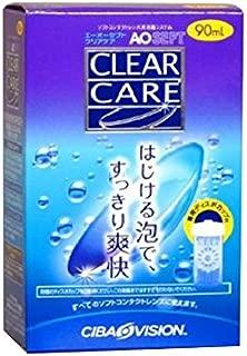 日本アルコン AOセプトクリアケア 消毒・洗浄 (ソフト用) 90mL