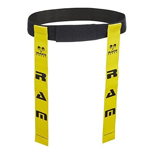 Ram Rugby Tag Belts, 10 Gürtel, 20 Tags kontaktlose Sportart wie TOUCH Rugby , Profi set beste Qualität