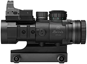 Burris 300177 AR Prism Sight Ballistic Cq Reticle with Free Fastfire III Reflex Red Dot Sight, AR-332, 3x36mm, 3 MOA with Picatinny Mount, Matte Black