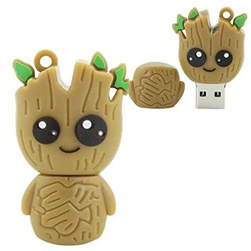 Pen drive de 32gb Guardiões Das Galáxias Marvel Árvore Groot