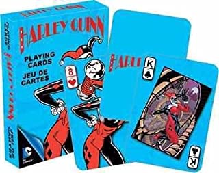 Aquarius DC Comics Harley Quinn Retro Playing Cards