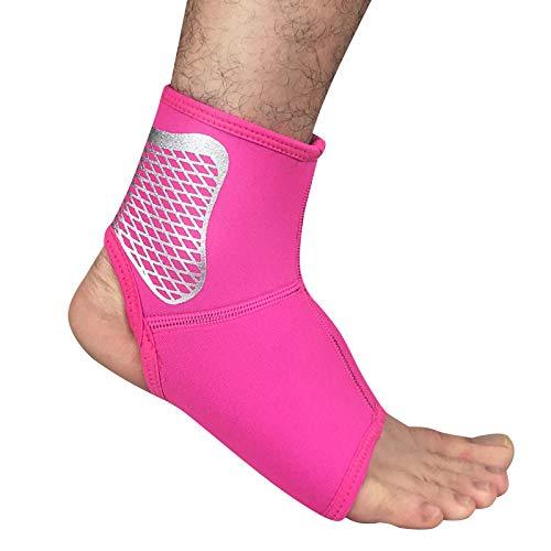 XMXWQ enkelsteun, stevige compressiebeugel met enkelband voor gewrichtspijn verlichting voor vrouwen en mannen sporten, hardlopen, basketbal, letsel herstel
