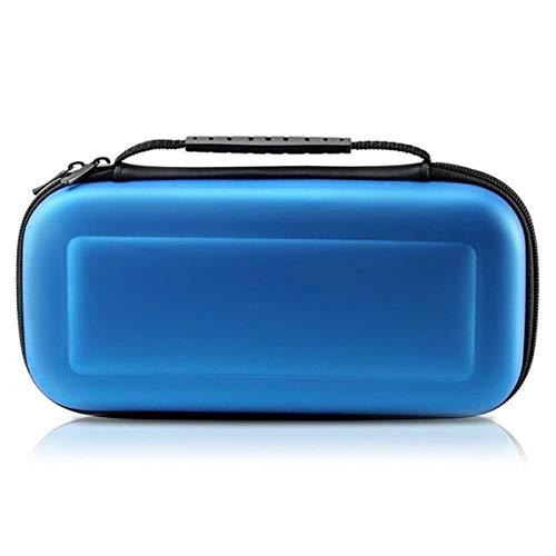 Tragbare lagerung Tragetasche Eva Hard Bag Tasche Schutz Reisetasche Für Nintendo Schalter NS NX (Color : Blau)
