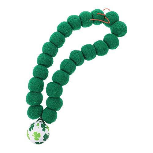 Amosfun Collar de San Patricio para mascotas, estilo shamrock para perros, primavera, corbatas para vacaciones, corbatas de San Patricio, accesorio para disfraz de perro