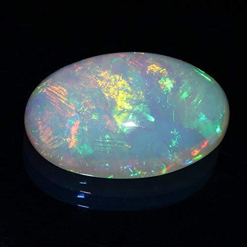 LOVEKUSH 50% Off Gemstone Jewellery Natural Ethiopian Welo Fire Opal Huge Size 26x39 mmCabochon Code:- RADE-34523