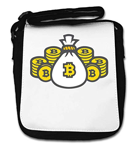 Bitcoin Wallet Crypto Currency Graphic Small Shoulder Bag