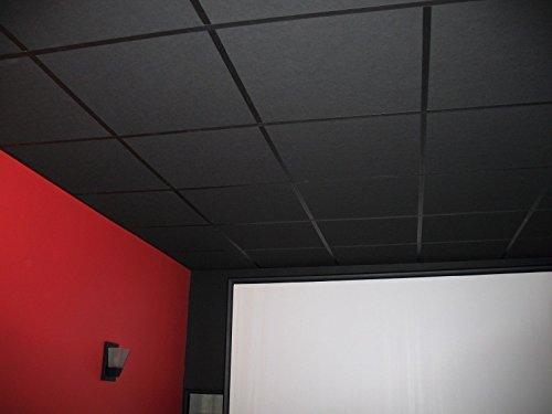 soundsulate Sound Absorbing Acoustical Drop Ceiling Tiles...