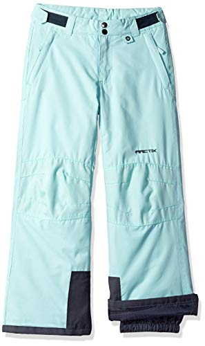 Arctix Youth Snow Pants With Reinforced Knees and Seat, Island Azure, Medium