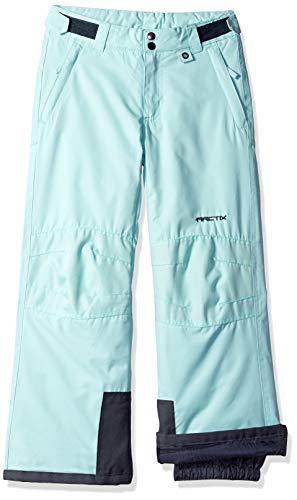 Arctix Kids Snow Pants with Reinforced Knees and Seat, Island Azure, Medium