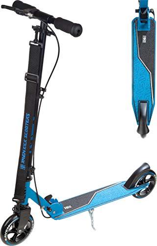 RAVEN Scooter, Roller, Tretroller, Kinderroller, Cityroller Epic 145mm mit Handbremse (Blue)