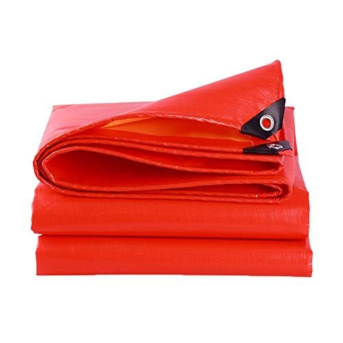 WEI beschermhoes voor meubels, dekzeilen, stof, parasol, afdekzeil, Oxford-stof, rood, waterdicht, vrachtwagen, slijtvast, met knoopsluiting, verschillende maten