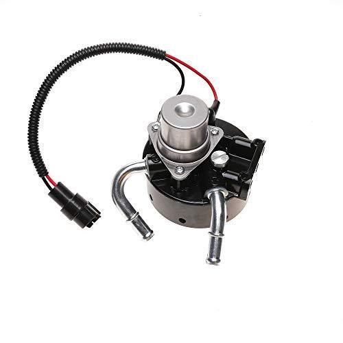 iFJF 12642623 Fuel filter head with Pump and 1R-0750 Adapter Refit Head Replacement for GM Duramax 6.6L V8 2005-2016 Chevy Silverado/GMC Sierra 2500HD 3500HD Diesel Engine LLY/LBZ/LMM/LML