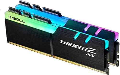 Mémoire G.Skill Trident Z RGB Series, DDR4 2400, CL 15 32 GB Dual Kit Black