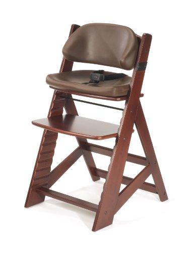 Keekaroo Height Right Kids High Chair with Comfort Cushions, Mahogany/Chocolate (0055215KR-0001)
