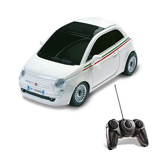 Mondo Motors - 63001 - Voiture Radio Commande - Nuova Fiat 500 - Echelle 1/ 24 - Coloris aléatoire