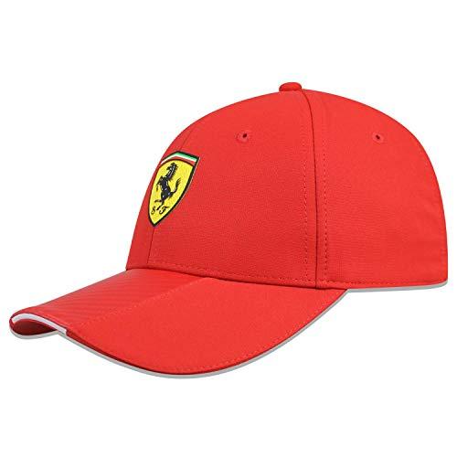 B.V. Scuderia Ferrari F1 Red Carbon Hat