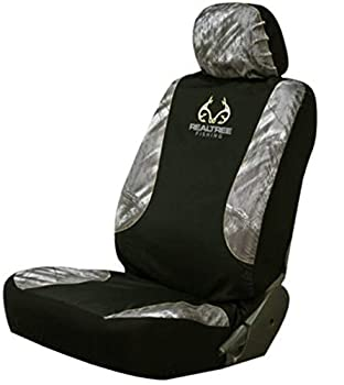 Realtree Fishing Low Back Seat Cover  Single