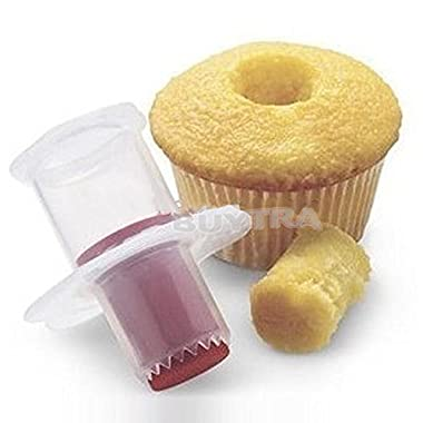 Great Deal(TM) Kitchen Cupcake Plunger Cutter Pastry Corer Decorating Divider Cake by Great Deal