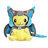 CosplayStudio Pokémon Pikachu - Peluche con capa Mega Glurak X |...