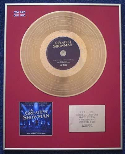 Century Music Awards - Disco LP rivestito in oro da 24 carati, The GREATEST SHOWMAN