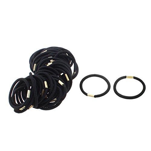 sourcing map femmes DIY Craft cheveux corde élastique cravate Bague Bandeau Bande Ponytail Support 50pcs