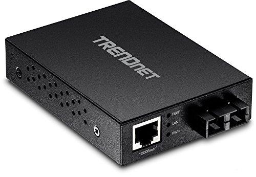 TRENDnet, TFC-GMSC naar 1000Base-SX Multi-Mode SC glasvezel converter, tot 550m (1800 voet), 2 Gbps schakelcapaciteit,