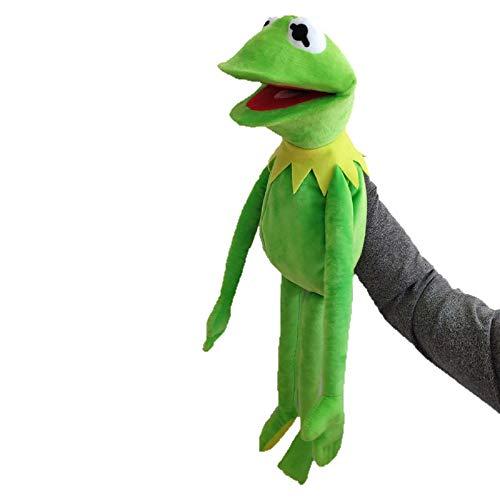 LucaSng Marionetas De Rana Kermit, Juguete De Felpa, Muñeco De Ventrílocuo Muppet Show, Regalo De Cumpleaños para Su Hijo 60cm /A